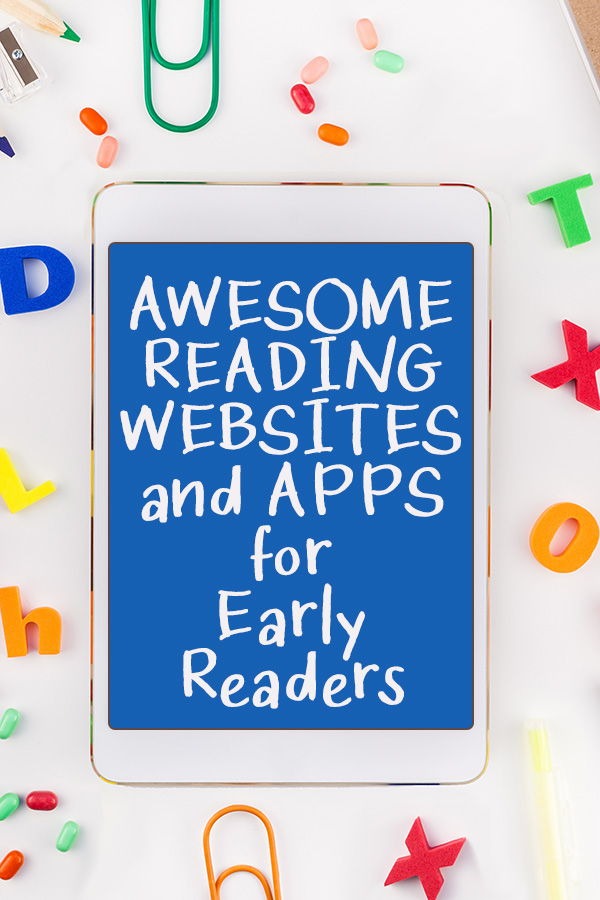Best reading websites and apps for early readers
