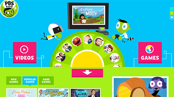 PBS Kids: Reading Apps and Websites for Kids