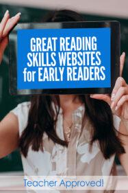Reading skills websites for beginning readers