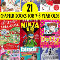 21 Chapter Books for 7 Year Olds