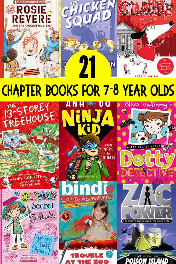 21 Popular Series Of Chapter Books For 7 Year Olds