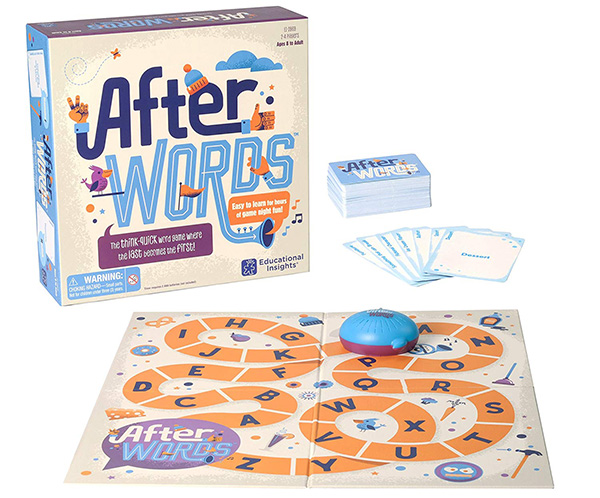 After words: word play games