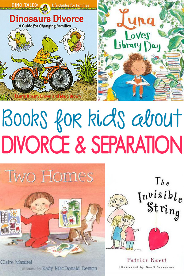 Books for Kids About Divorce and Separation