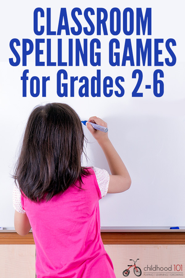 Classroom spelling games for grades 2-6