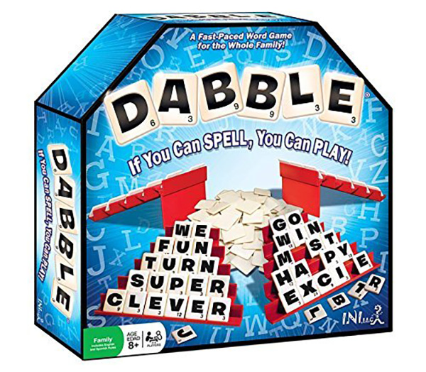 Kids word games: Dabble