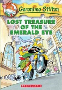 Geronimo Stilton chapter books fo 7-9 year olds