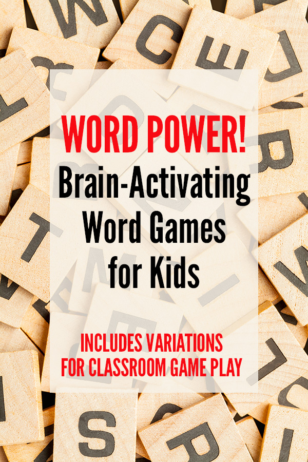 Classroom word games