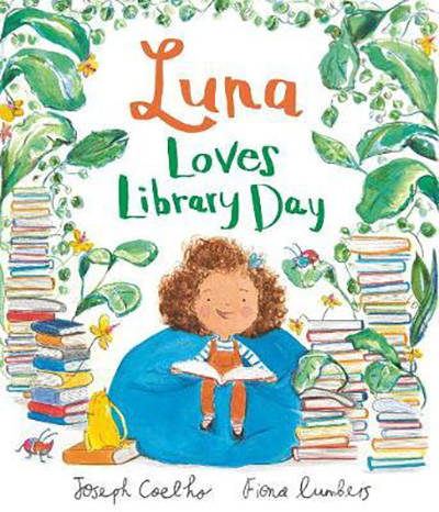 Books about Divorce and Separation: Luna Loves Library Day