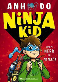 Ninja Kid chapter books for 7 year olds