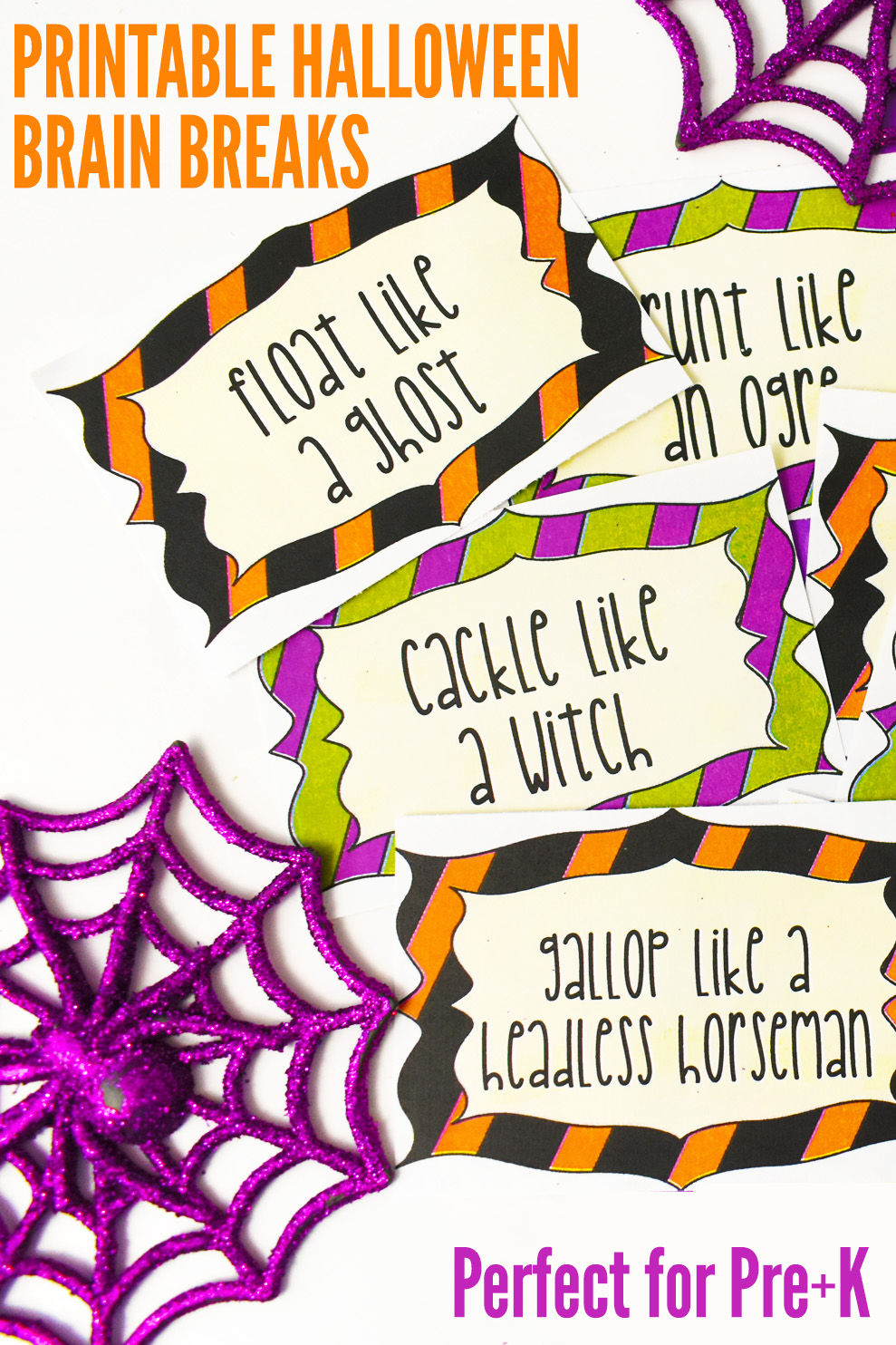 Printable Halloween Brain Breaks