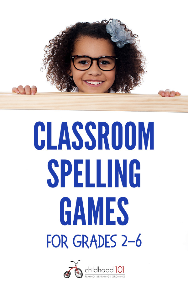 Group spelling games for grades 2-6