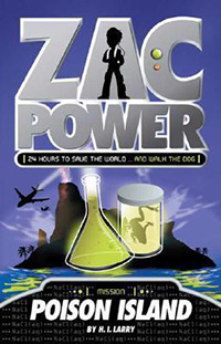 Zac Power Books for 7 year olds