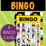 Halloween Alphabet Bingo Game