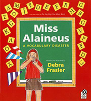 Miss Alaineaus A Vocabulary Disaster