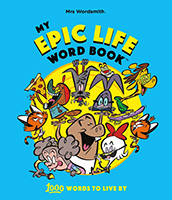 My Epic Life Word Book for Kids