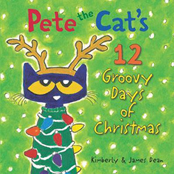 Pete the Cats 12 Days of Christmas