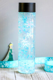 Winter Sensory Bottle Inspired by Frozen 2 Movie