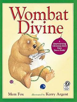 Wombat Divine Christmas book