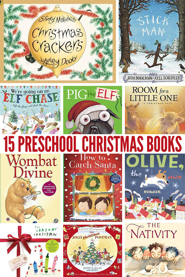 15 Christmas Books for Preschool