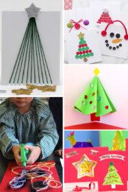 25 Christmas Cards Kids Can Make