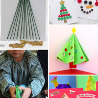 25 Christmas Cards Kids Can Make