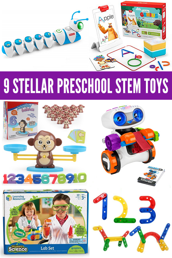 9 Highly Rated and Award Winning STEM Toys and Games for Preschoolers