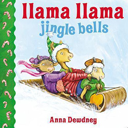 Llama LLama Jingle Bells: Christmas Books for Toddlers