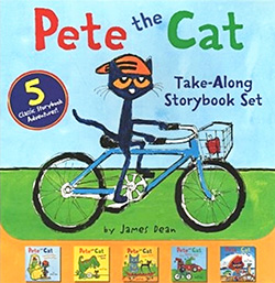 Pete the Cat Takealong Book Set