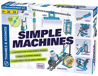 Simple machines science kit for kids
