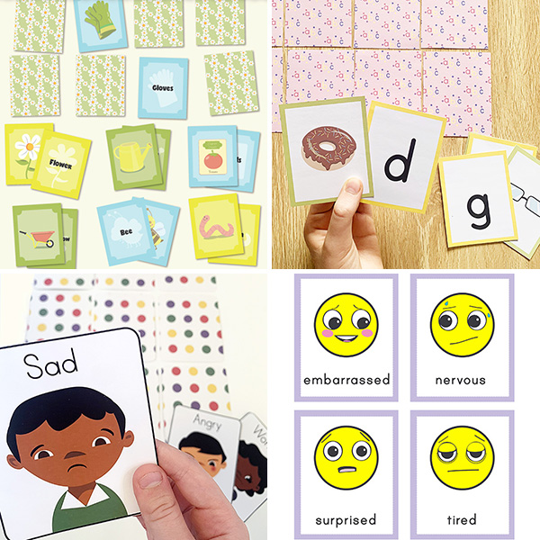 Printable Matching Games for Kids