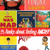 25 Children's Books About Anger, Tantrums and Feeling Frustrated