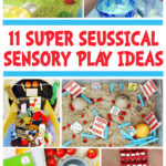 Dr Seuss Sensory Play Ideas