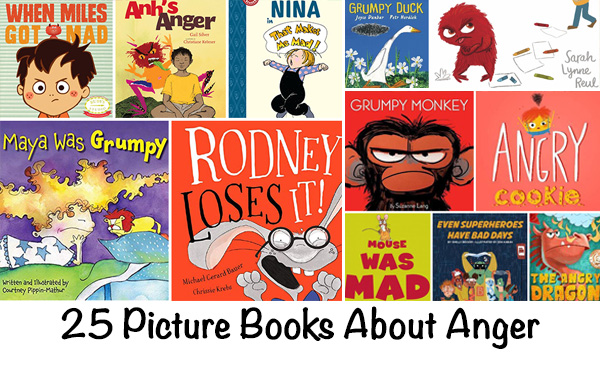 Picture books about anger