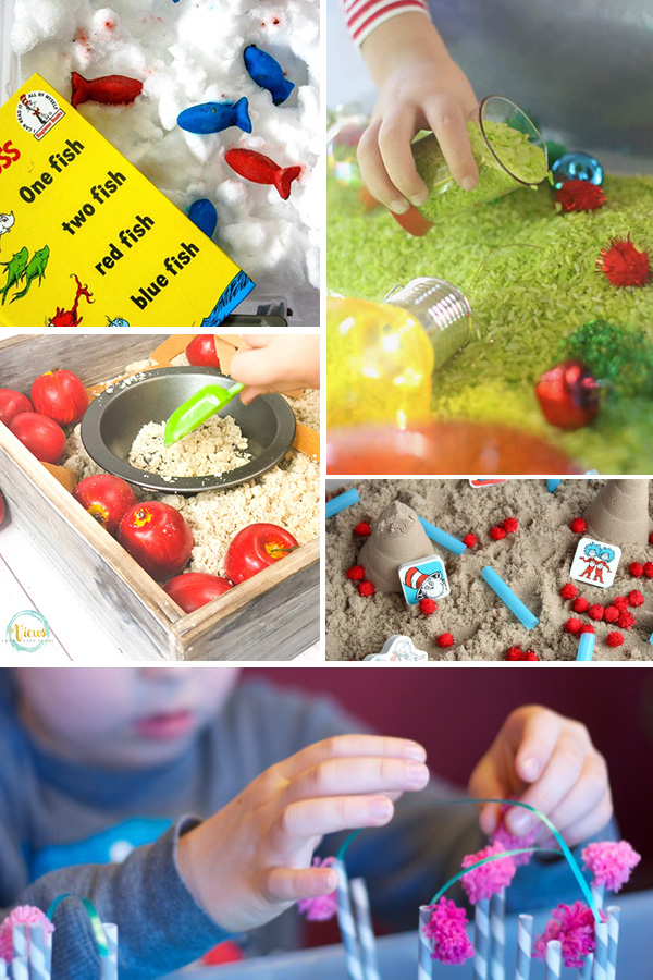 Seuss Sensory Play Ideas