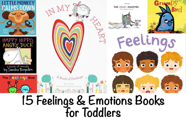 Books about feelings and emotions for toddlers
