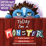Today I'm a Monster book about feeling angry