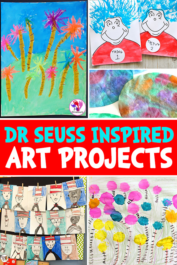 Dr Seuss Art Ideas for Kids