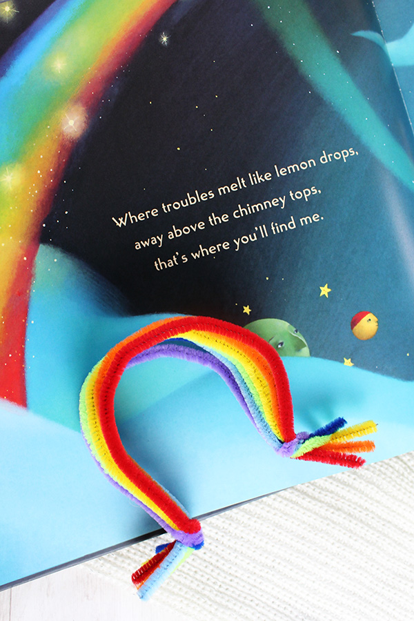 Over the rainbow book activities ideas