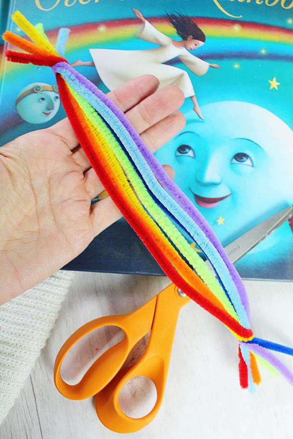Over the rainbow book activity idea
