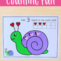 Printable Counting Mats