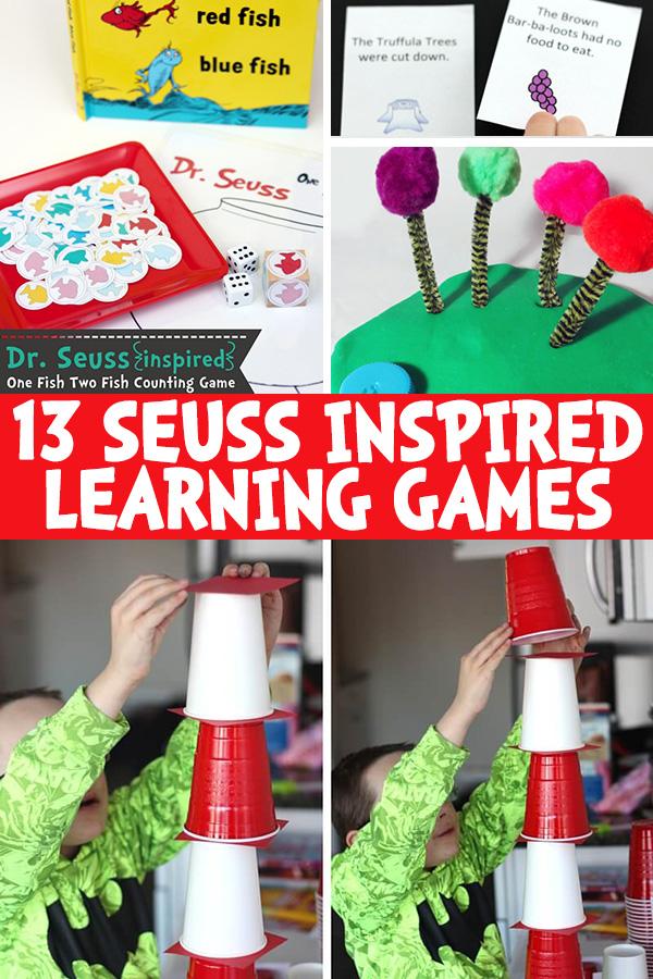 Seuss Learning Games for Pre K