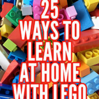 25 home learning Lego activities for school closure