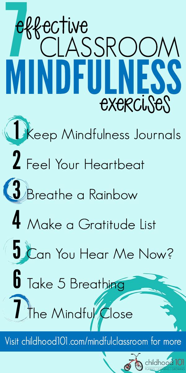 7 awesome classoom mindfulness exercises