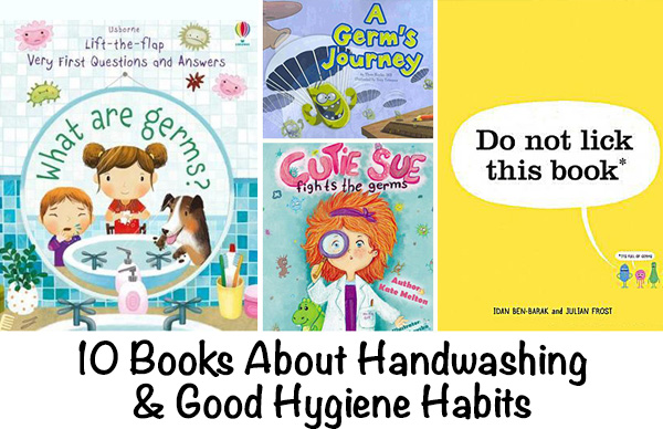 Books about handwashing and hygiene