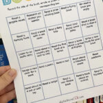 Kids Book Bingo Printable