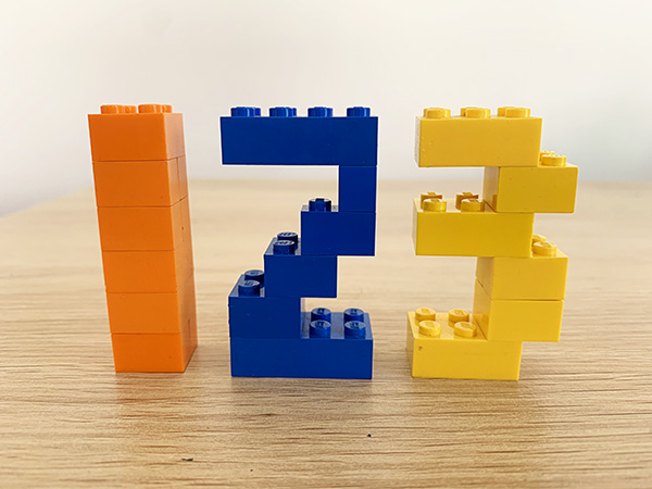 Lego learning at home