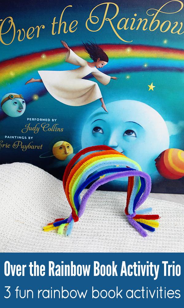 Over the rainbow book activities