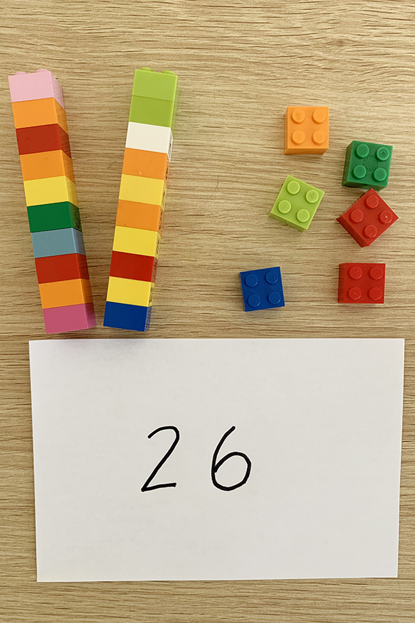 Place Value with Lego