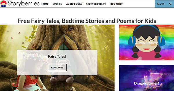 Storieberries free stories for kids