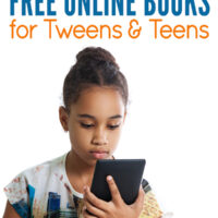 Free online books for tweens and teens
